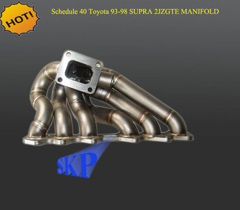 SKP Top grade steam pipe for TWIN TURBO MANIFOLD FOR 93-98 TOYOTA SUPRA MK4 2JZ GTE JZA80 (Fits: Toyota Supra)