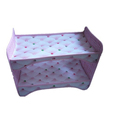 China factory girls lovely toys furniture single bedding doll bed for sale