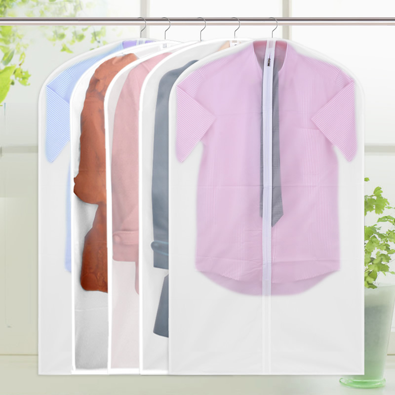 Different sizes new can be washed without peculiar smell PEVA translucent clothes suit dust cover