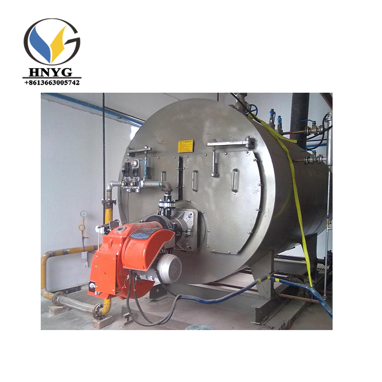 Industrial gas and oil fired steam boiler manufacturer for india