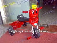 Low price baby toys tricycle with pedal ,ping hu newest baby plastic toy tricycle pinghu toys ride on car, Hot saling!