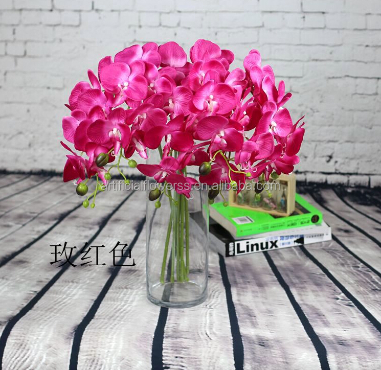 High quality cheaper wholesale artificial singapore orchid flowers