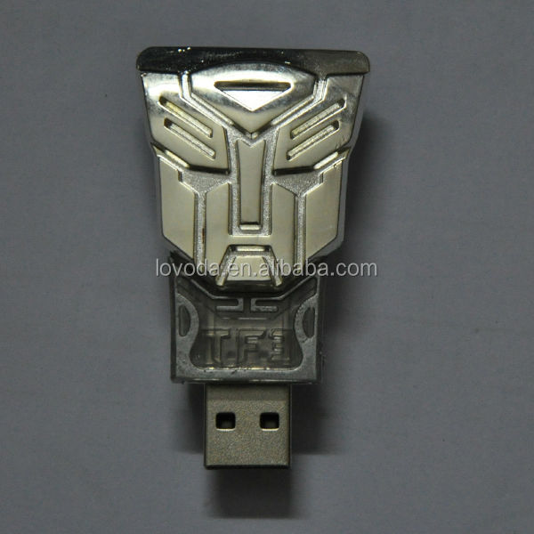 metal push design high speed transformer usb 3.0 flash drive/usb stick 500gb/usb flash drive pirce alibaba china LFX-050