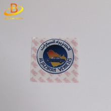 Customized high quality cheap price clear flexible epoxy resin doming 3m vinyl sticker