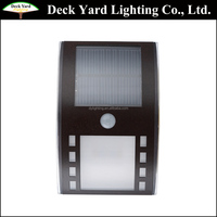 Solar Power Wall Mounted Lamps PIR Small Solar Security Led Solar Motion Sensor Lights