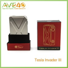2016 Wholesale price Tesla Invader 3 best vaping mod Tesla invader body kit