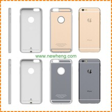 New design Power supply qi wireless charger cell phone case qi wireless reicever case for iPhone 7 7 plus