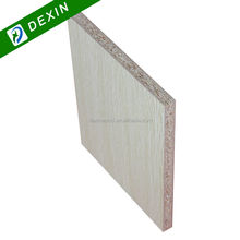 Pure Color or Wood Grain 8mm to 28mm Melamine Laminated Chip Board For Cabinet and Furniture Making