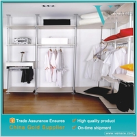 Modern design bedroom closet cabinet design soft close wardrobe closet