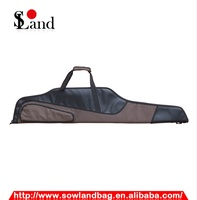 Two Color Leather Material Gun Bag/case