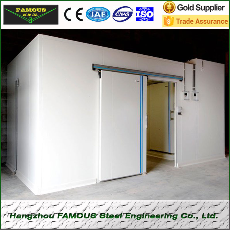 Build walk in cooler panel cold storage cold room for fish for Storage room plan