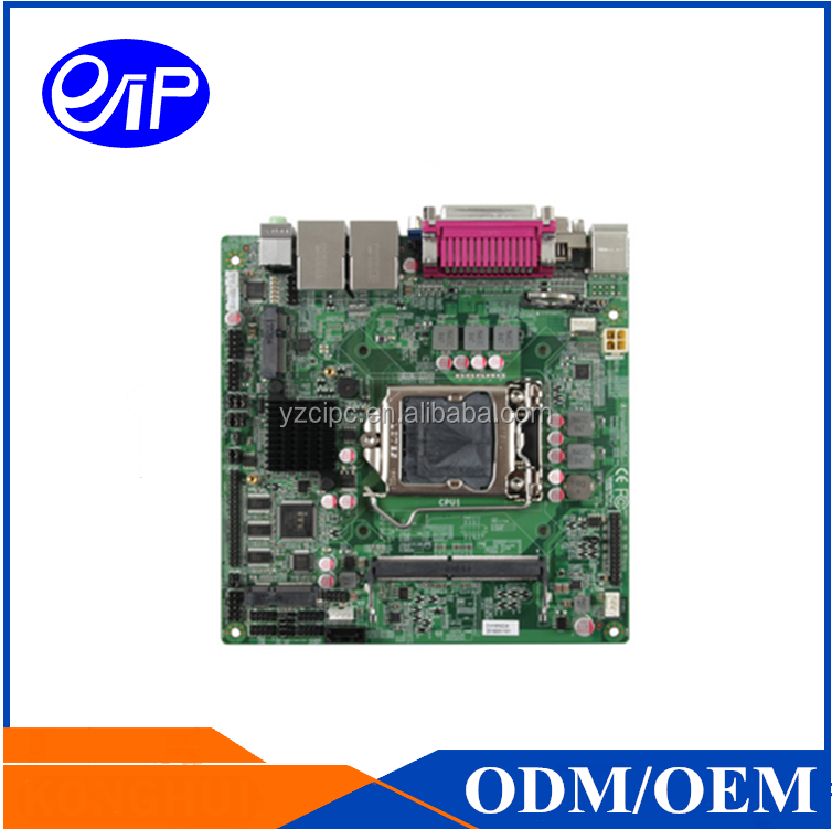 ZO-H110P-8C2LR4 Embedded industrial motherboard with Gigabit Ethernet ports