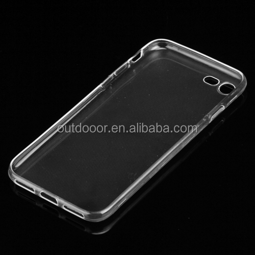 For iPhone 7 0.75mm Ultra-thin Transparent TPU Protective Case newest hot selling TPU case for iPhone 7