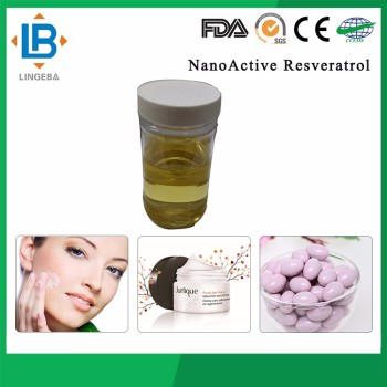 Light Clear Liquid Anti-Wrinkle Products Nanoactive Resveratrol