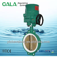 Rotork gear operated butterfly valve