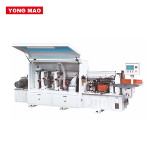 Wood edge banding machine for making kitchen and cabinet