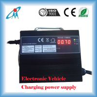 30A 2500W AC to DC Charging Station Electrical Vehicle (EV) car portable Battery Charger