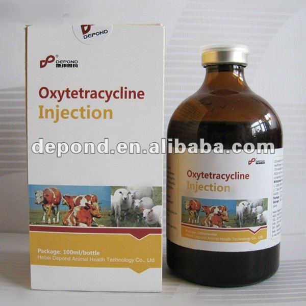 10% oxytetracycline cattle injection