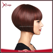 Wholesale Top Quality Short Bob Full Lace Wig For Black Women
