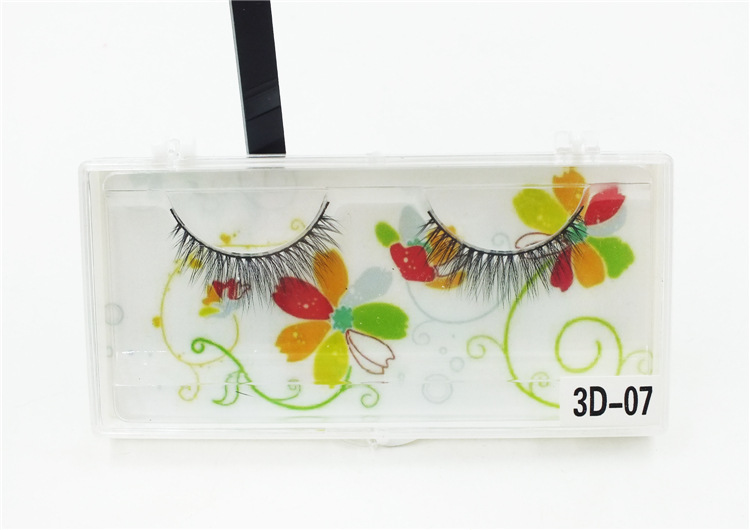 handmade synthetic black band volume 3D eyelash extensions