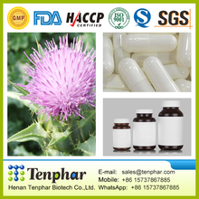 Help Cleanse the Liver Milk Thistle Liver OEM 500mg Private Label Capsule