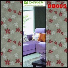 High quality DEREK window cling film self adhesive transparent window film size 0.9*50 meter