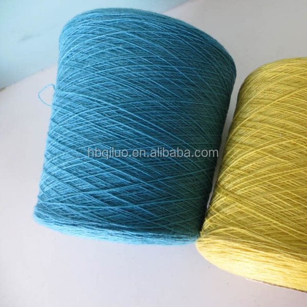 Types of cotton yarn factory price stock lot cotton lycra yarn for selling