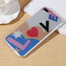 Mobile Accessories Shenzhen TPU Phone Case Shiny Bling Phone Case for xiaomi redmi note