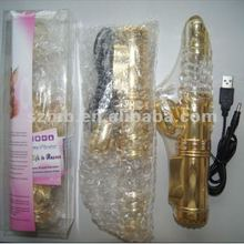 2012 new design recharge rabbit vibrator multi-speed sex toy for women