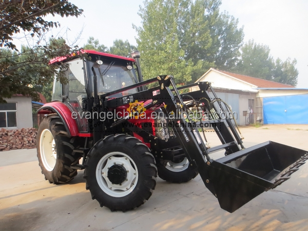 Small tractor front end loader for agricultural garden tractor buy small tractor front end for Small garden tractors with front end loaders