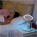 Hot Sale Fashionable Porfect Design Round LED Makeup Mirror With 7 Colors Lamp