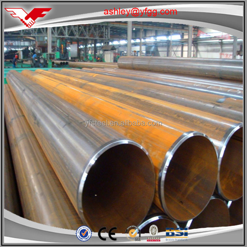 YOUFA Ashley MS Black Welded Gi Pipes/ Tubes/ASTM A53 Grade B Low Carbon ERW Welded Mild Steel Pipes