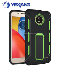 protective functional unbreakable soft tpu hard pc cheap factory price mobile phone case for MOTO E4