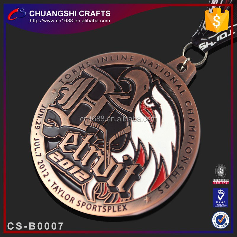 Folk Art Style and Zinc alloy material blank medal
