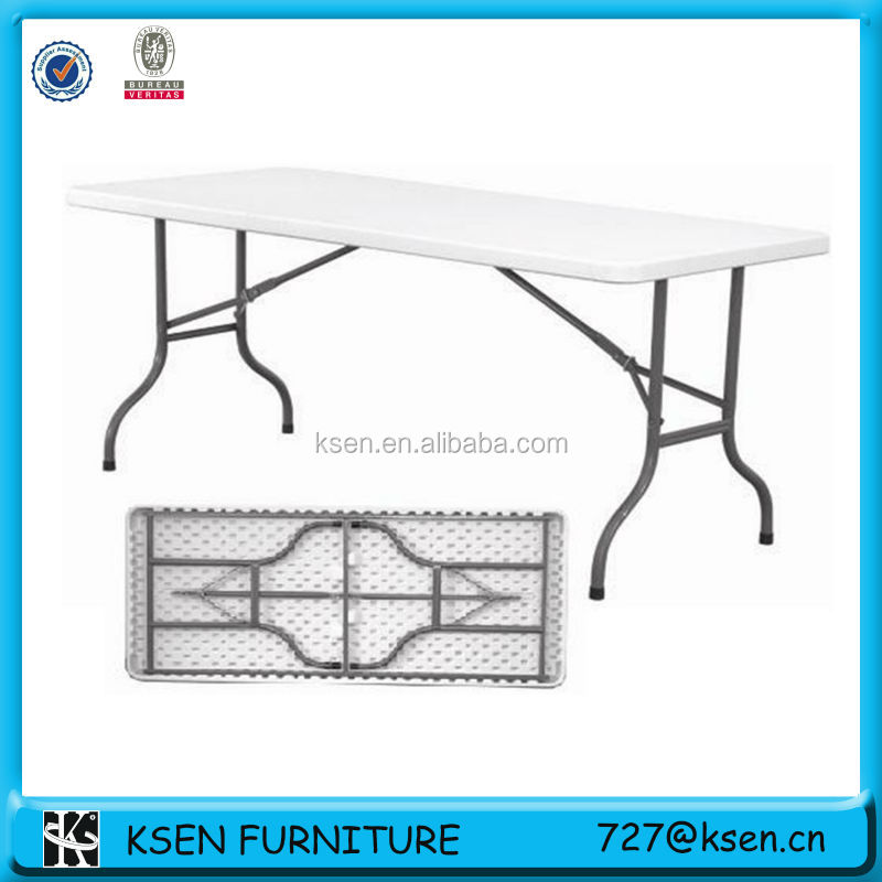 Leisure outdoor plastic folding table KC-T72