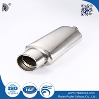 factory directly sale stainless steel small engine exhaust muffler price