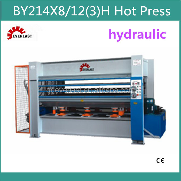 BY21 4*8/12(3)H High Quality Plywood Hydraulic Hot Press Machine for MDF Production Line