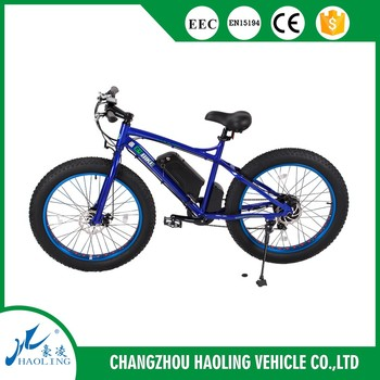 "26"" Fat bike 500w electric motor for bicycle"