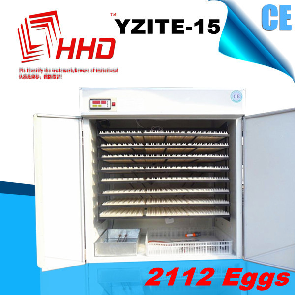 CE approved 2112 eggs full automatic incubators for dove eggs for sale YZITE-15