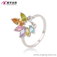 13652-xuping fashionable animal shaped colorful ring