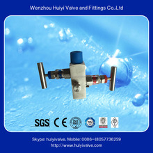 2016 Swagelok Type Stainless Steel 304 2 Way Valve Manifold for Water
