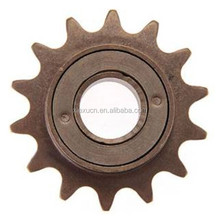 Plastic chain sprocket for bicycle