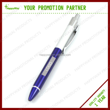 click Medium Point stainless steel metal ball pen , MOQ100pcs 0207085 One Year Quality Warranty