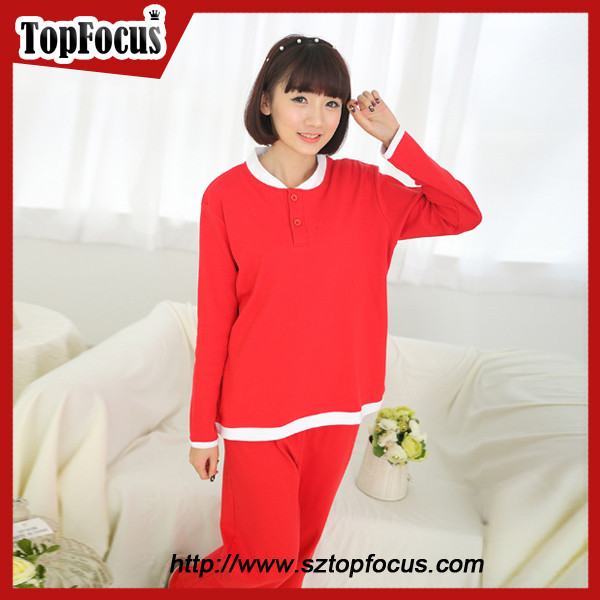 Latest fashion plus size wholesale cotton young girls sexy nightwear