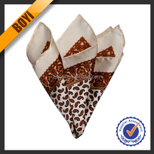 Custom Cheap Plain Silk Brand Handkerchief