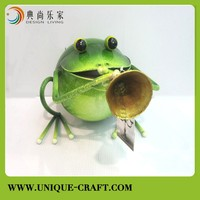 Metal garden Frog Band series for outdoor garden decor