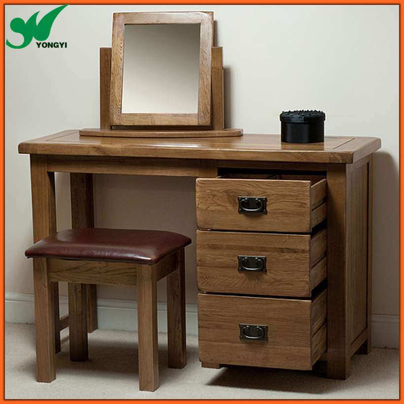 Wood Dressing Table And Dressing Chair - Buy Dressing Table,Oak Wood ...