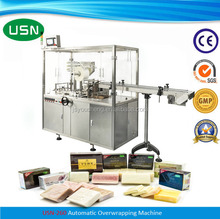 Automatic Soap Cellophane Wrapping Machine / Soap Cellophane Packing Machine