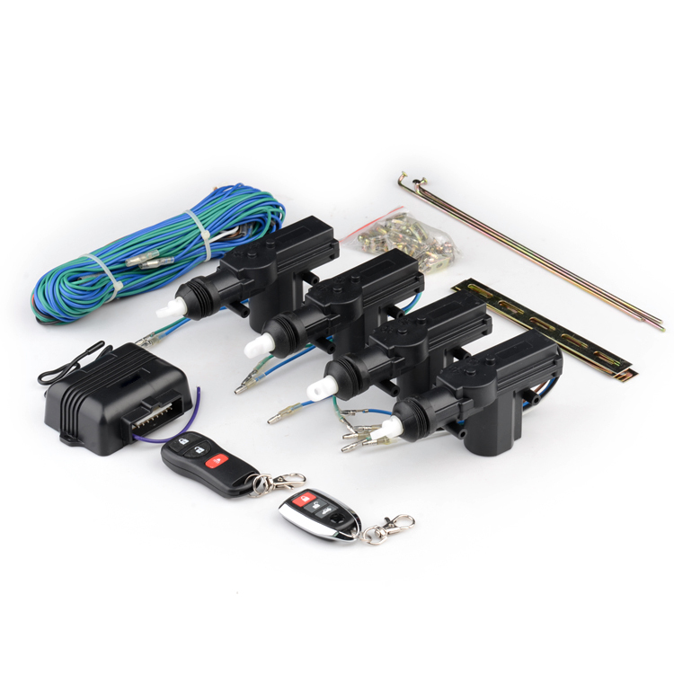 Remote control for car central door lock system with car searching window closer output