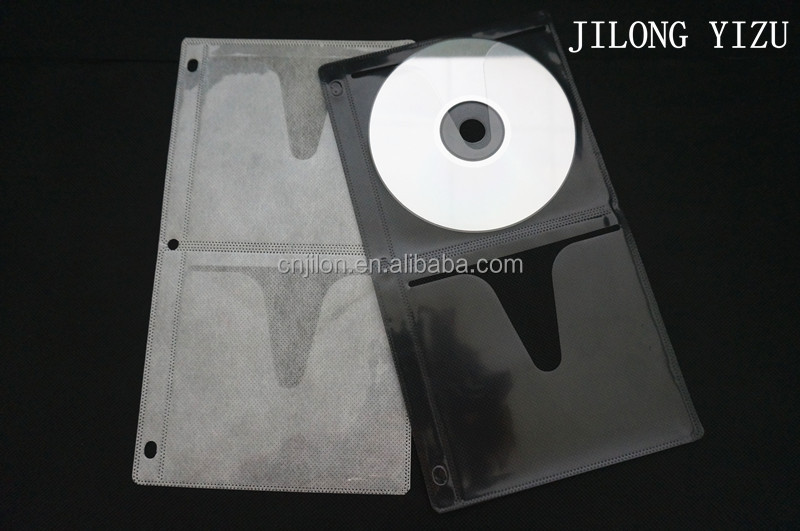 Single Side Vinal CD Sleeves DVD Plastic Cover